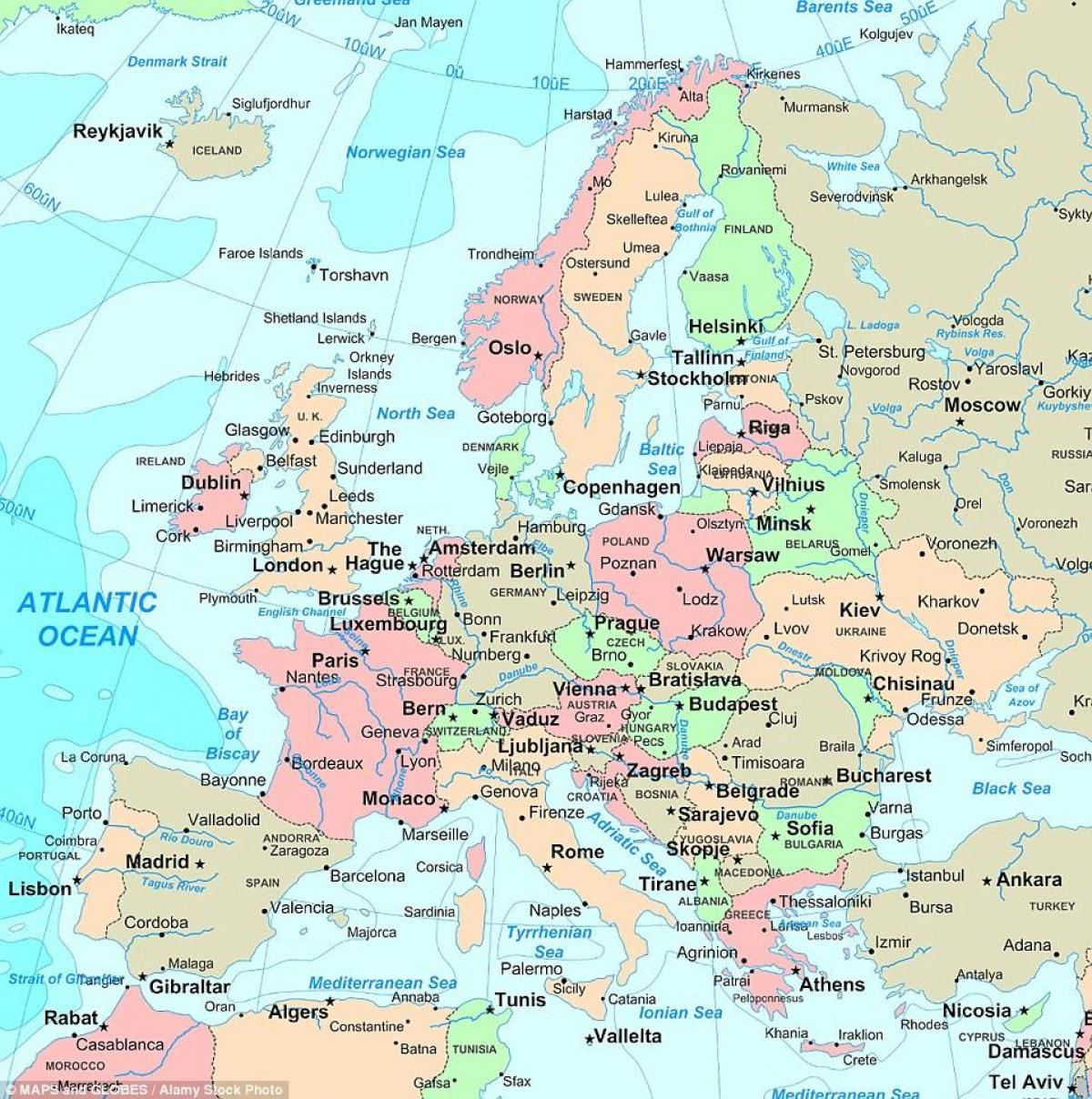 Karta Karta Firenze